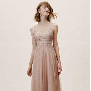 Bridesmaid dress, BHLDN dress, gown, wedding